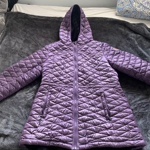 Purple Steve Madden Fur Lined Coat🖤